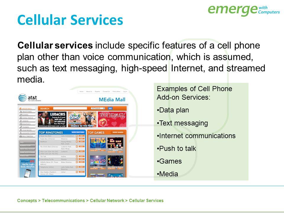 Cellular Services