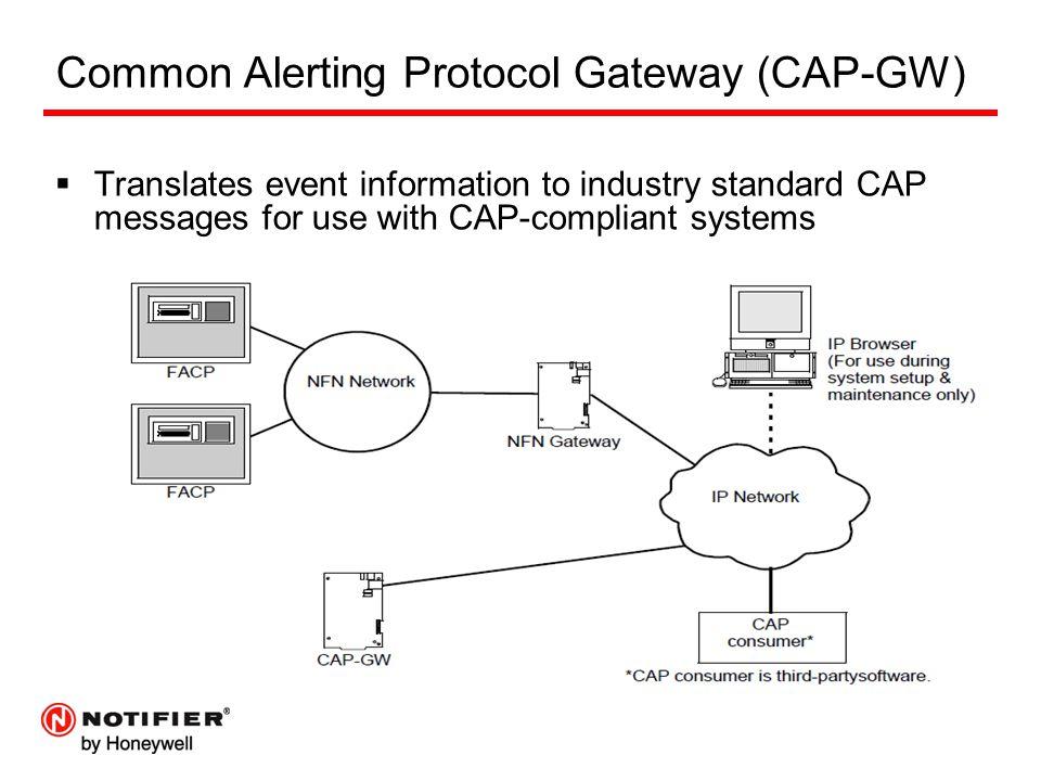 Common Alerting Protocol Gateway (CAP-GW)