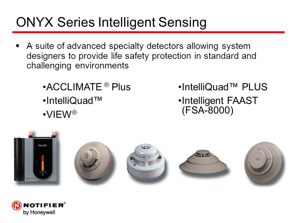 ONYX Series Intelligent Sensing