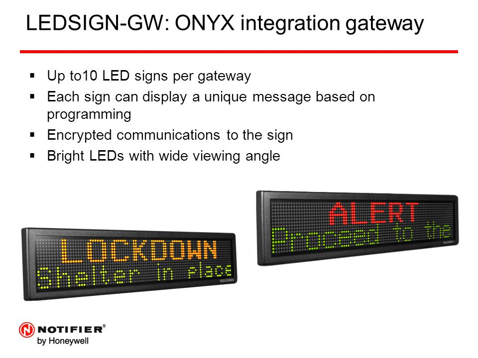 LEDSIGN-GW: ONYX integration gateway