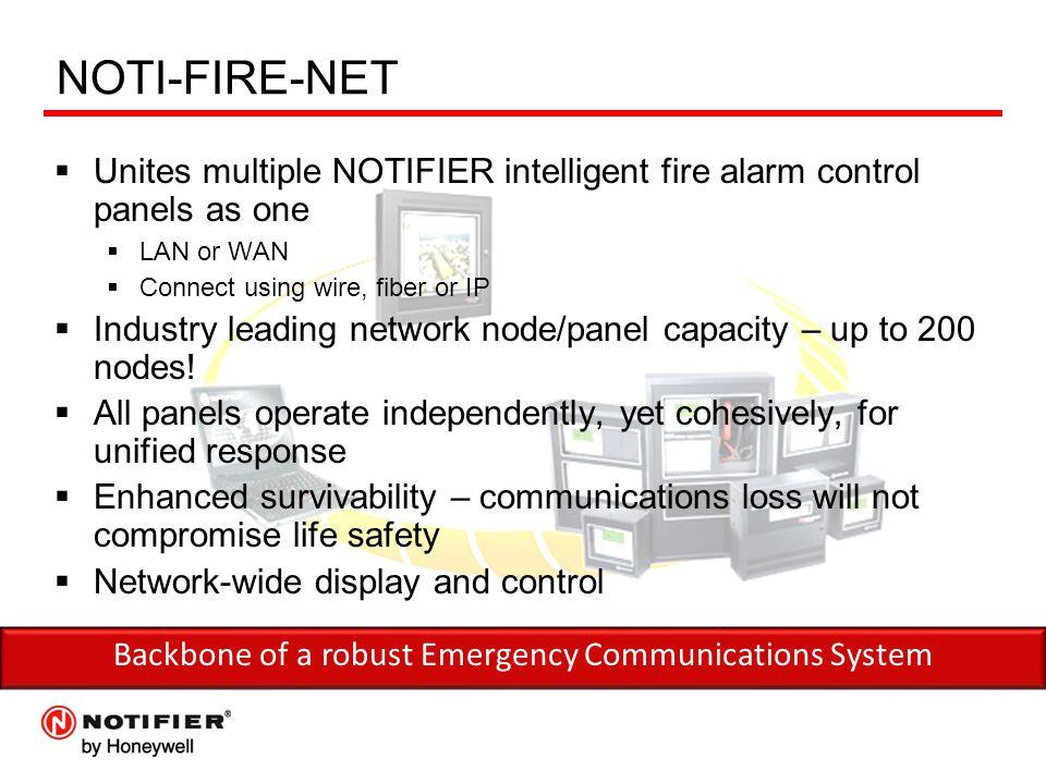 Backbone of a robust Emergency Communications System