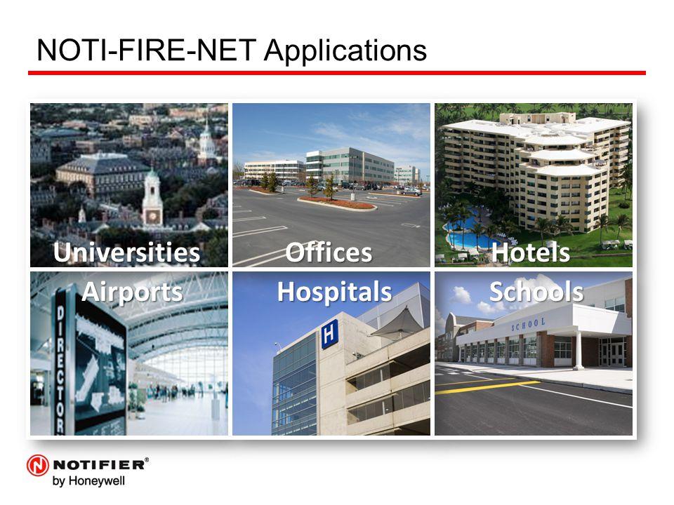 NOTI-FIRE-NET Applications