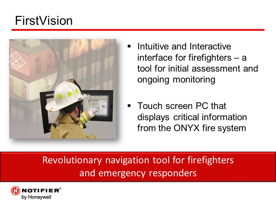 FirstVision Revolutionary navigation tool for firefighters