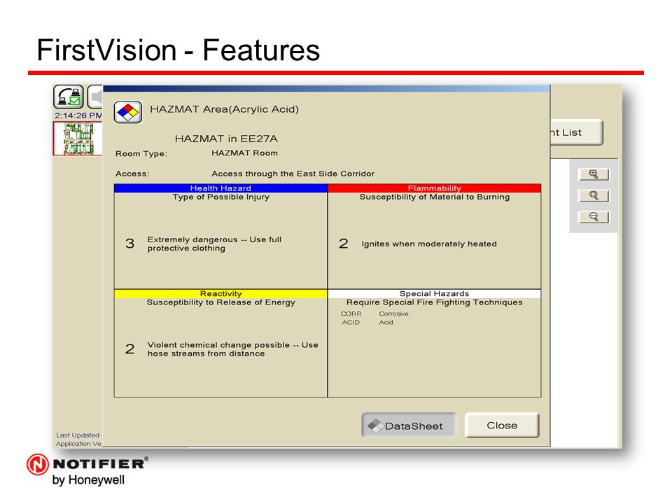FirstVision - Features