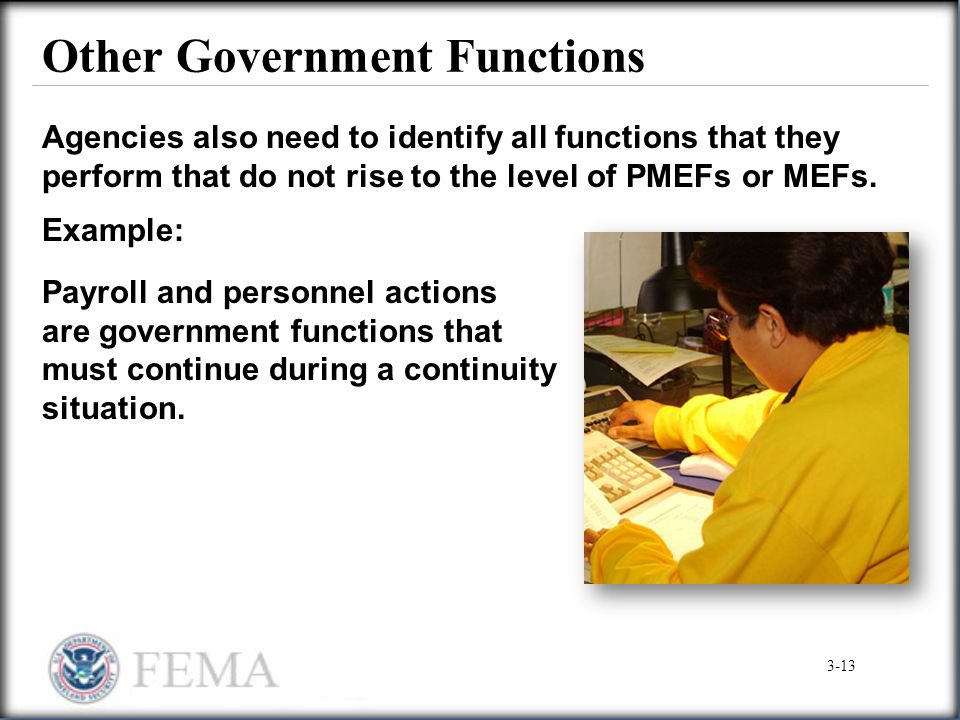 Other Government Functions