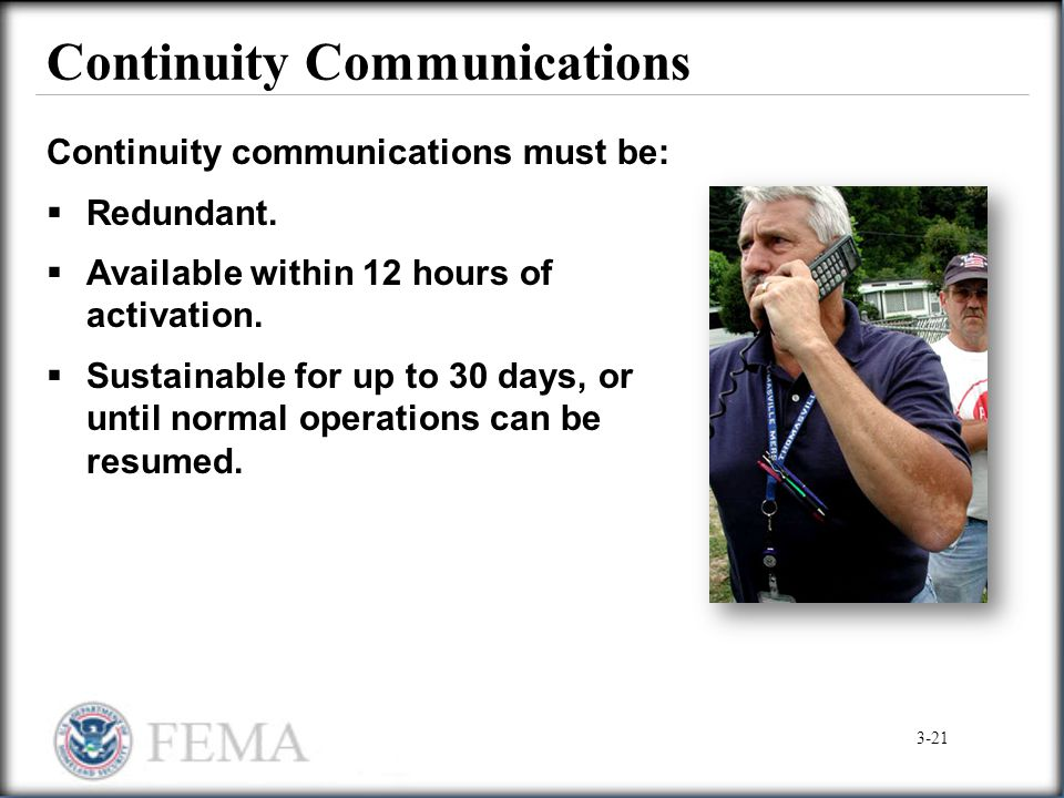 Continuity Communications