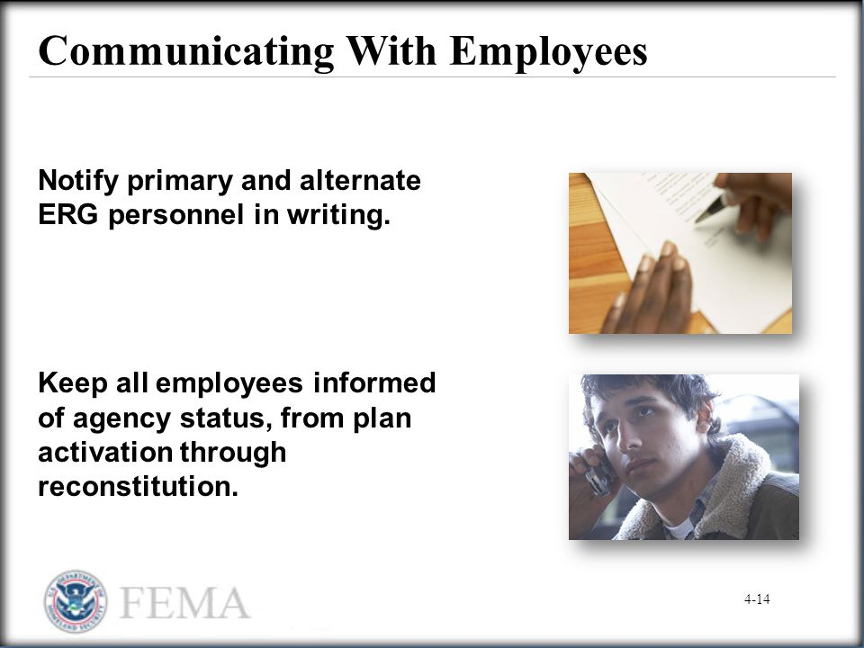 Communicating With Employees