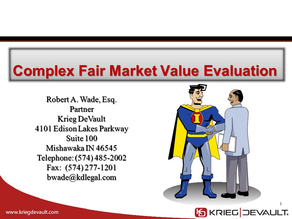 Complex Fair Market Value Evaluation