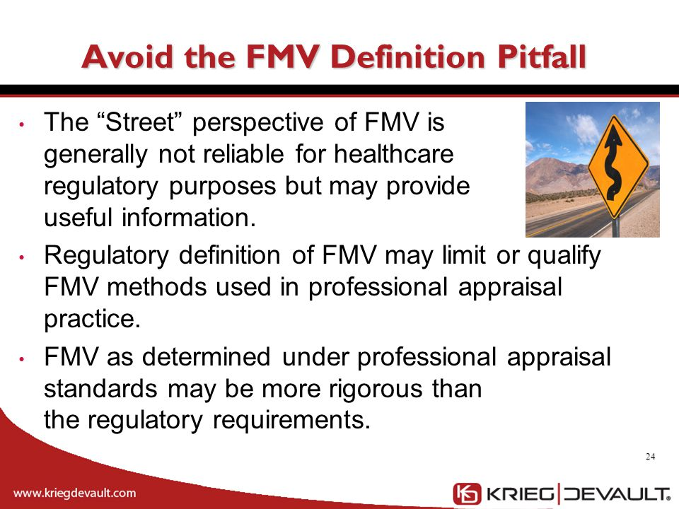 Avoid the FMV Definition Pitfall