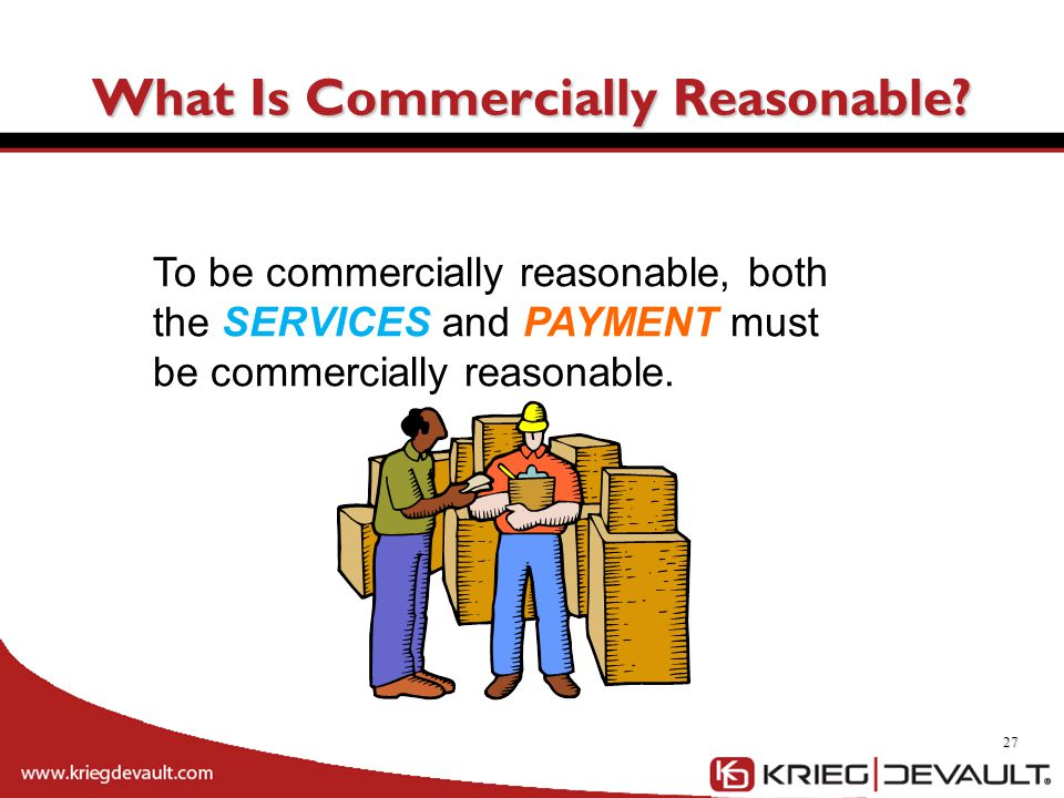 What Is Commercially Reasonable
