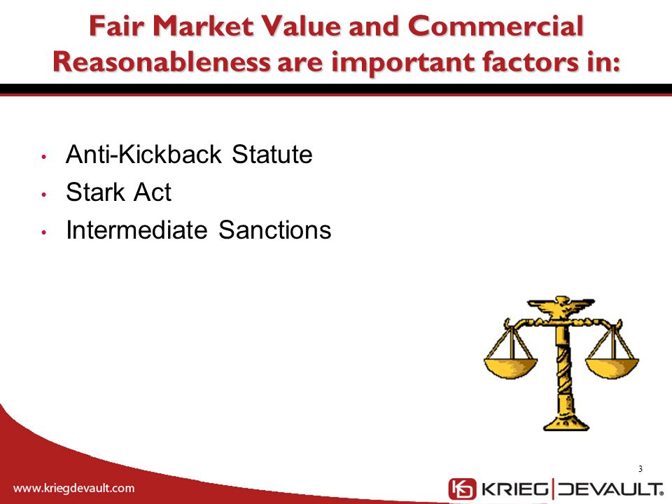 Fair Market Value and Commercial Reasonableness are important factors in: