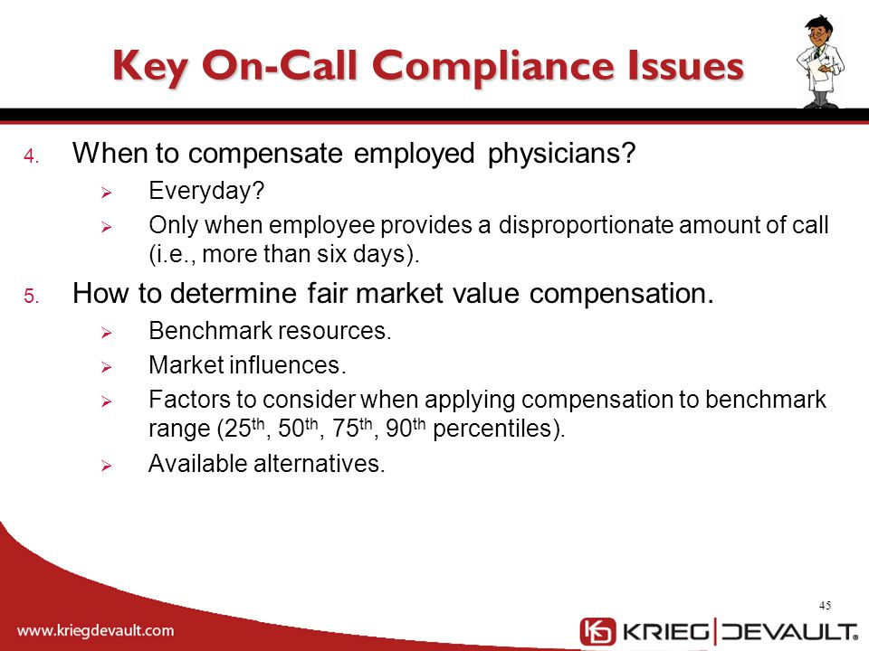 Key On-Call Compliance Issues