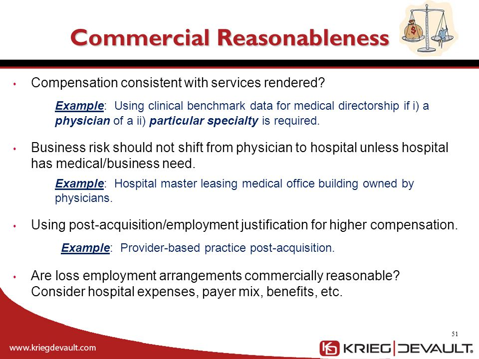 Commercial Reasonableness