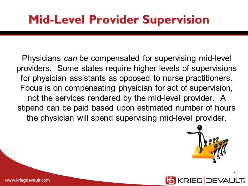 Mid-Level Provider Supervision
