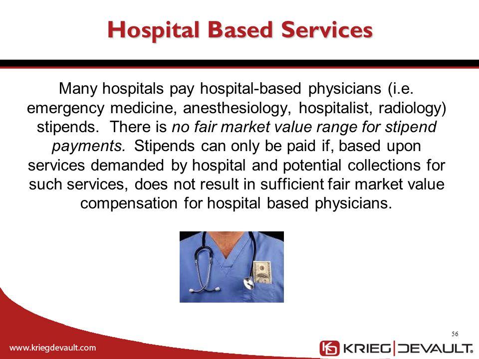 Hospital Based Services