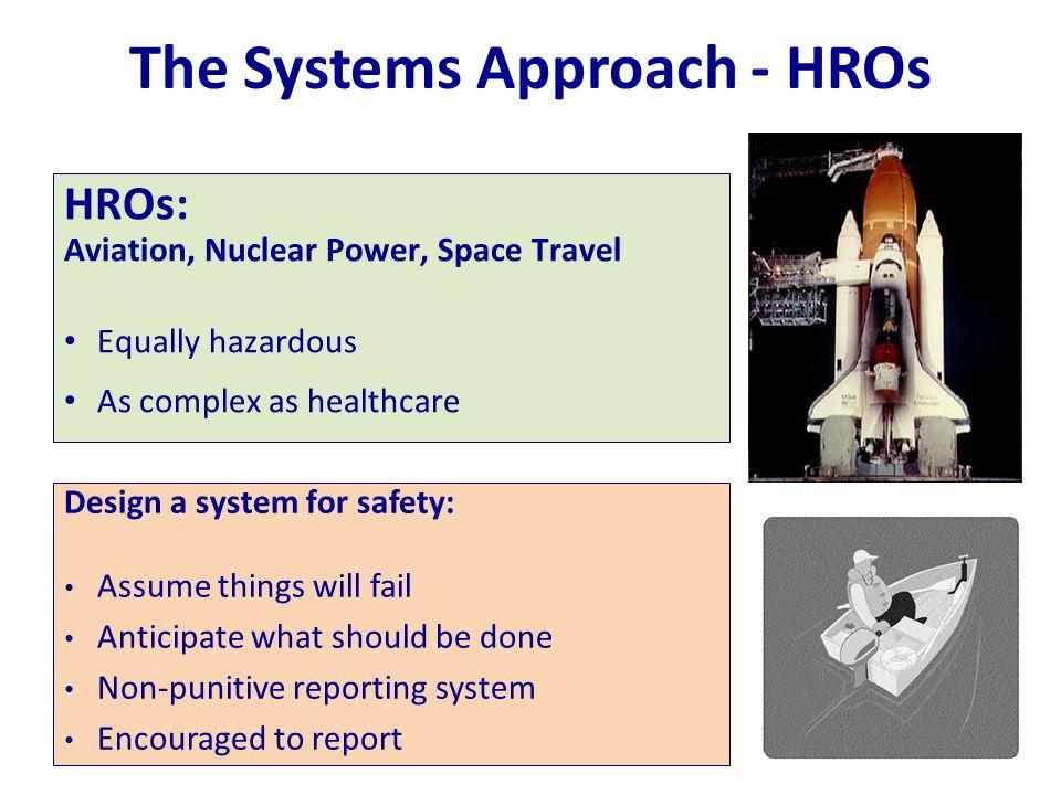 The Systems Approach - HROs