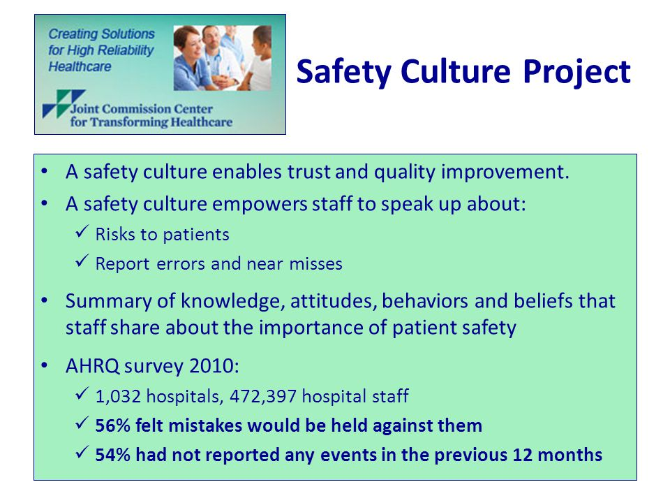 Safety Culture Project