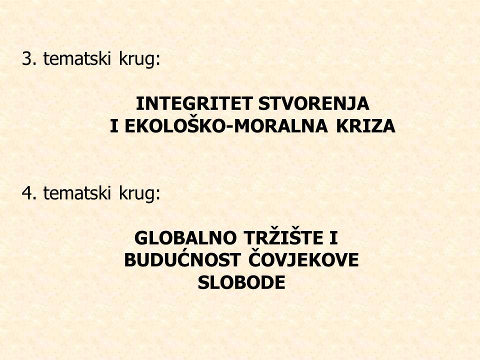 I EKOLOŠKO-MORALNA KRIZA