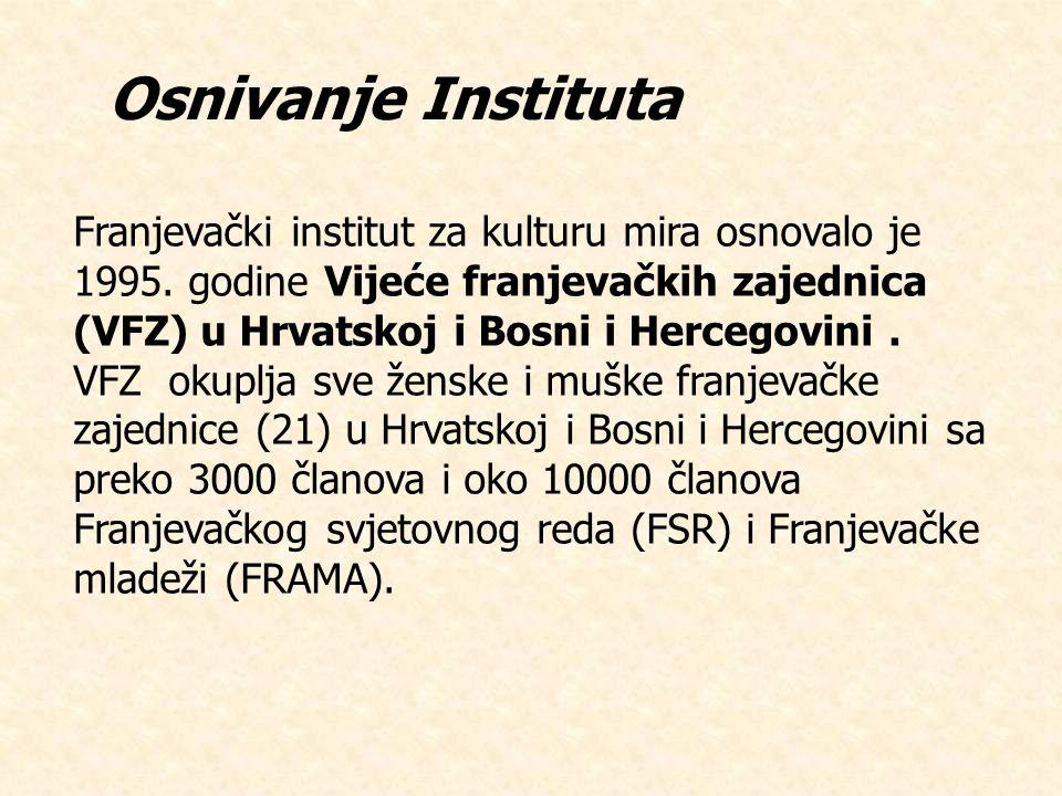 Osnivanje Instituta