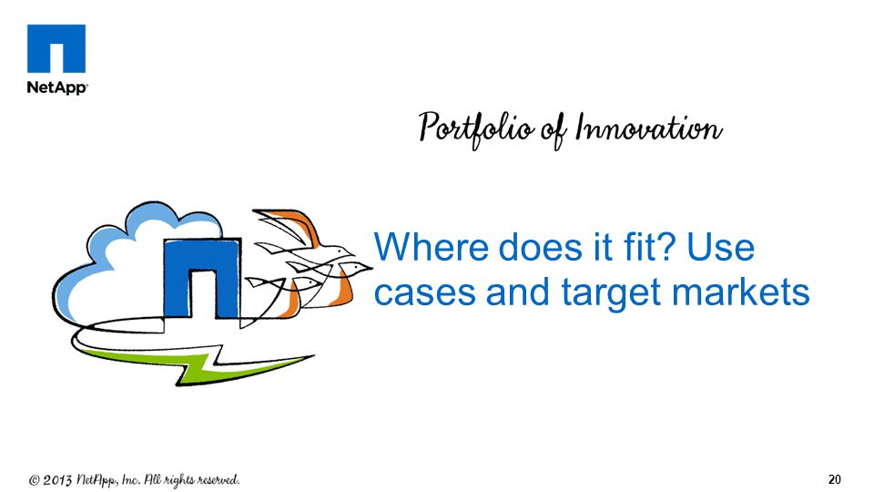 Where does it fit Use cases and target markets