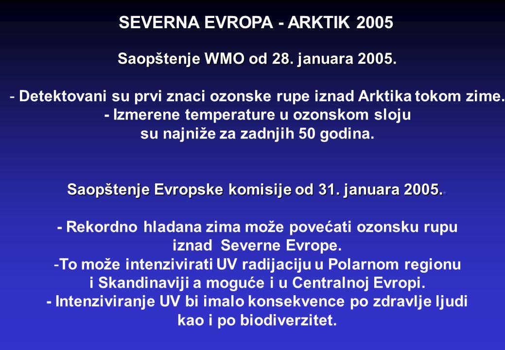 SEVERNA EVROPA - ARKTIK 2005