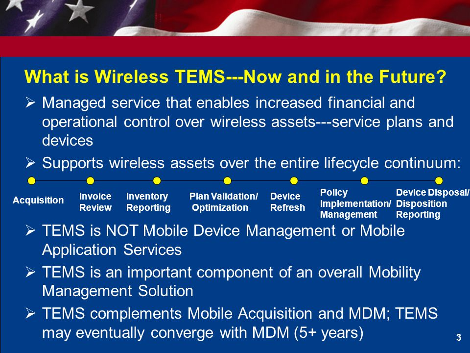 What is Wireless TEMS---Now and in the Future