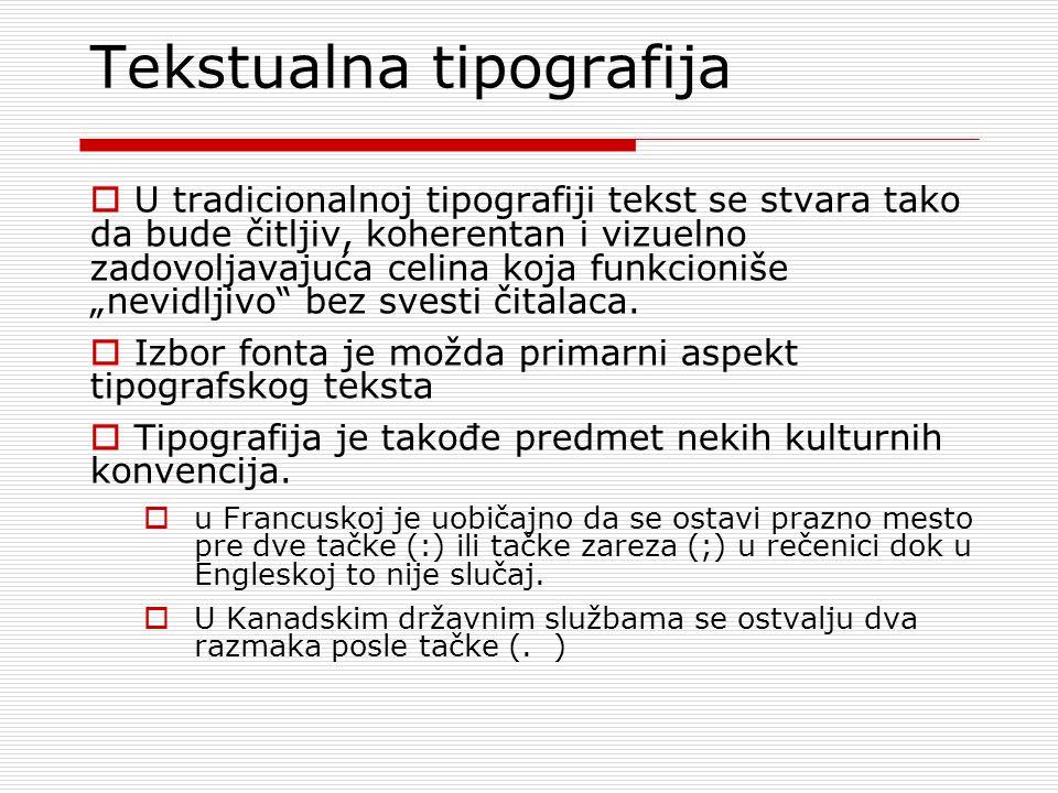 Tekstualna tipografija