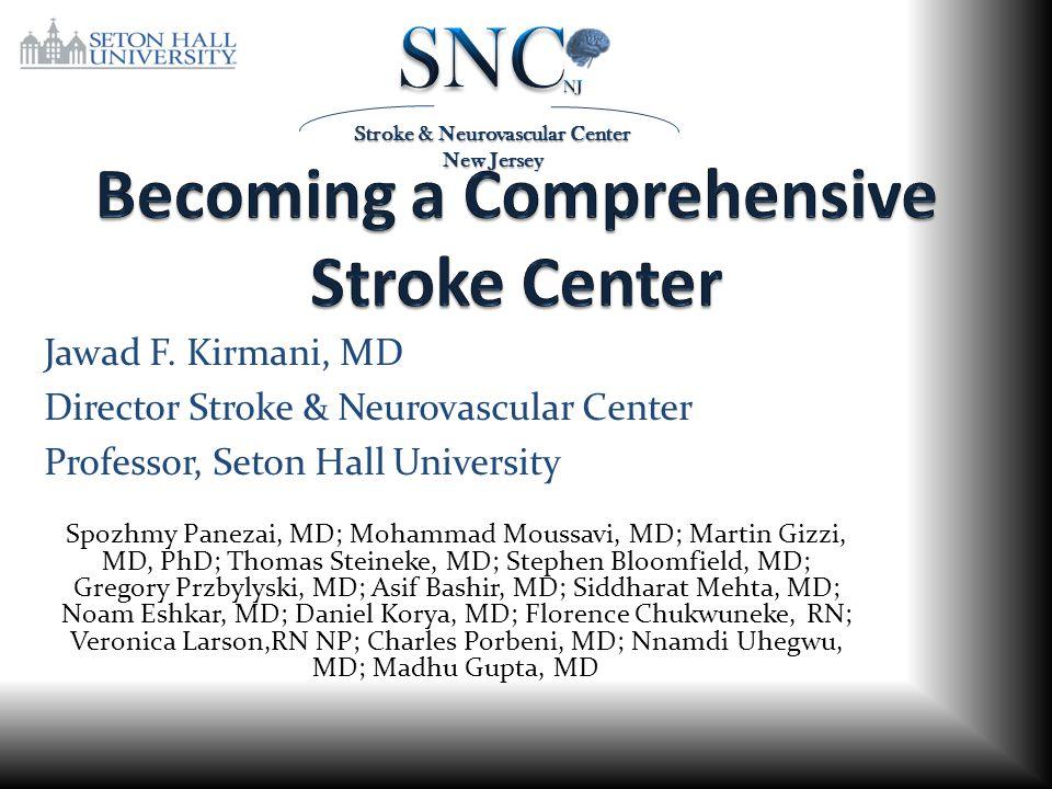 Becoming a Comprehensive Stroke Center