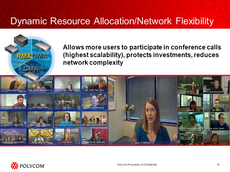 Dynamic Resource Allocation/Network Flexibility