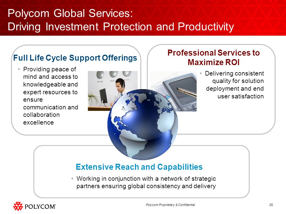 Polycom Global Services: Driving Investment Protection and Productivity