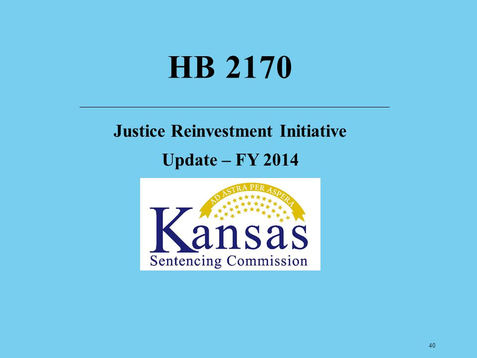 Justice Reinvestment Initiative Update – FY 2014