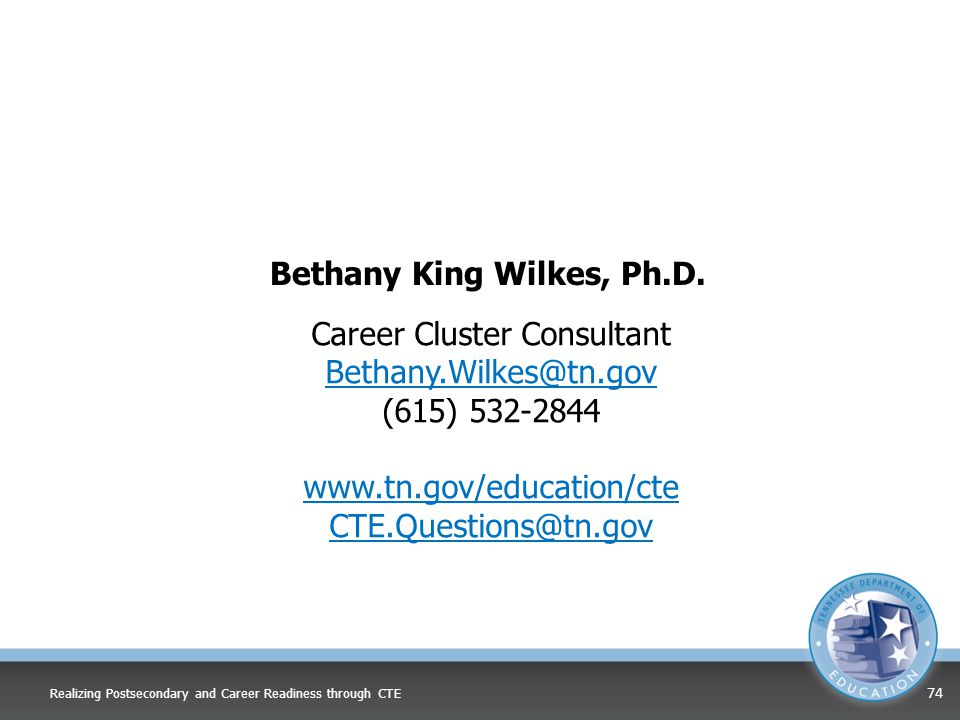Bethany King Wilkes, Ph.D.