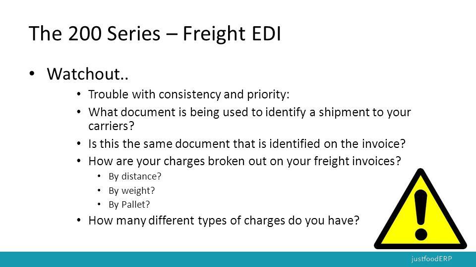 The 200 Series – Freight EDI