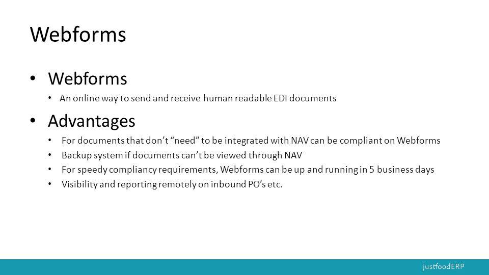 Webforms Webforms Advantages