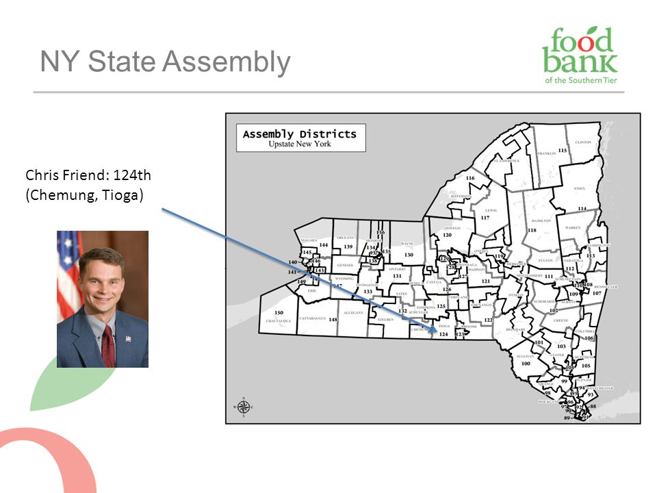 NY State Assembly Chris Friend: 124th (Chemung, Tioga)