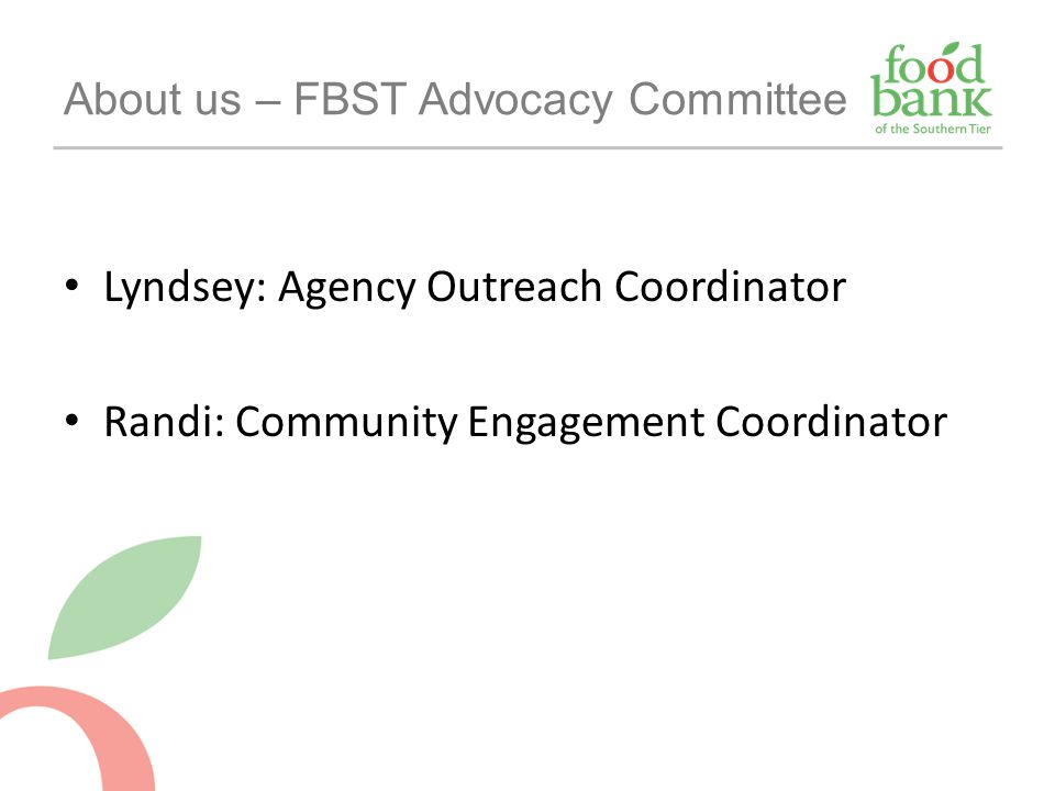 About us – FBST Advocacy Committee