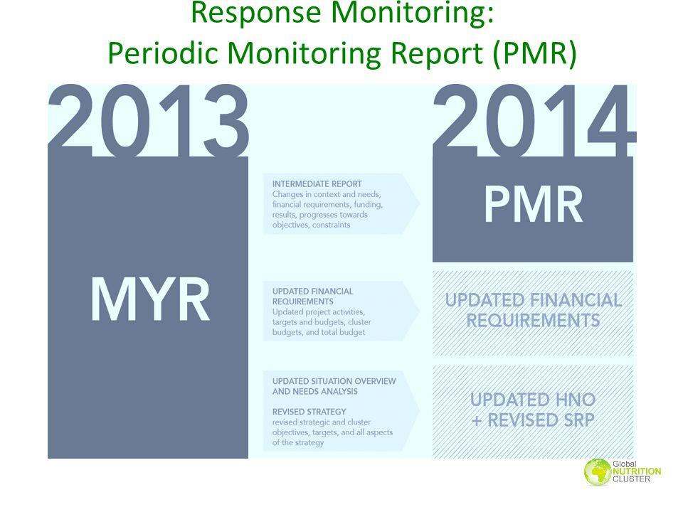 Response Monitoring: Periodic Monitoring Report (PMR)