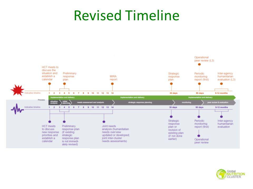 Revised Timeline