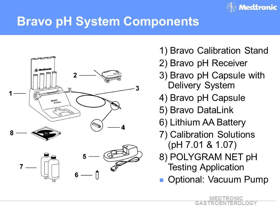 Bravo pH System Components