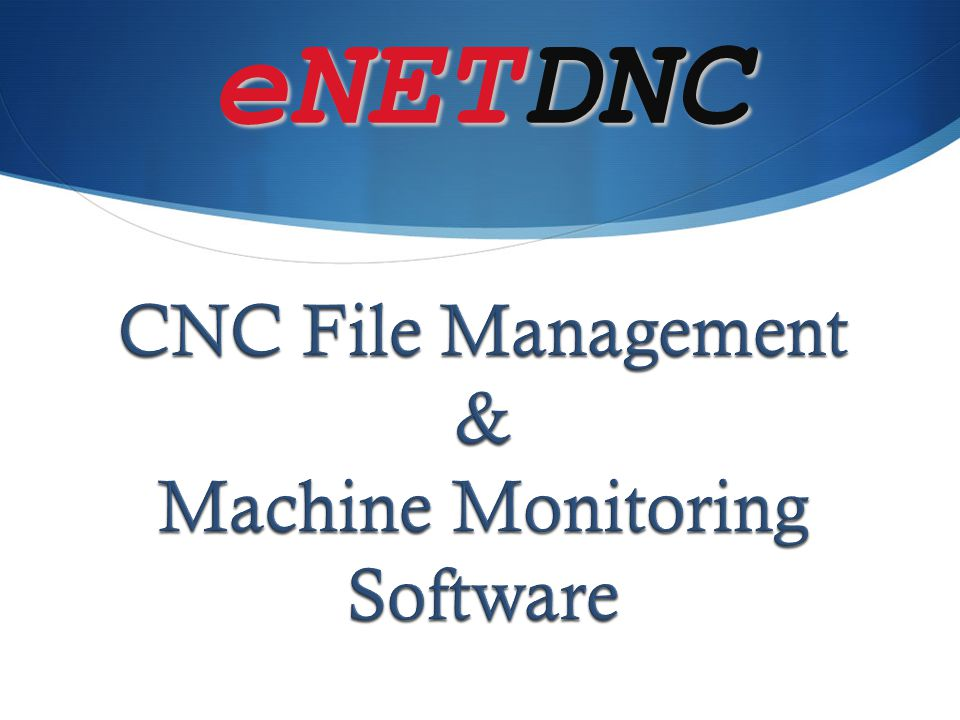 Machine Monitoring Software