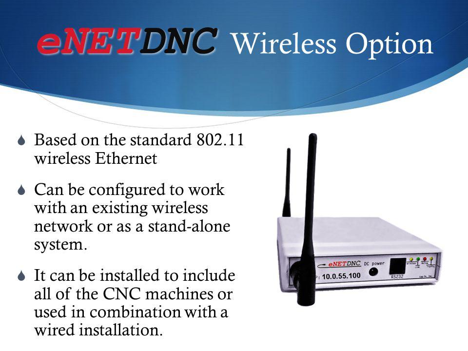 eNETDNC Wireless Option