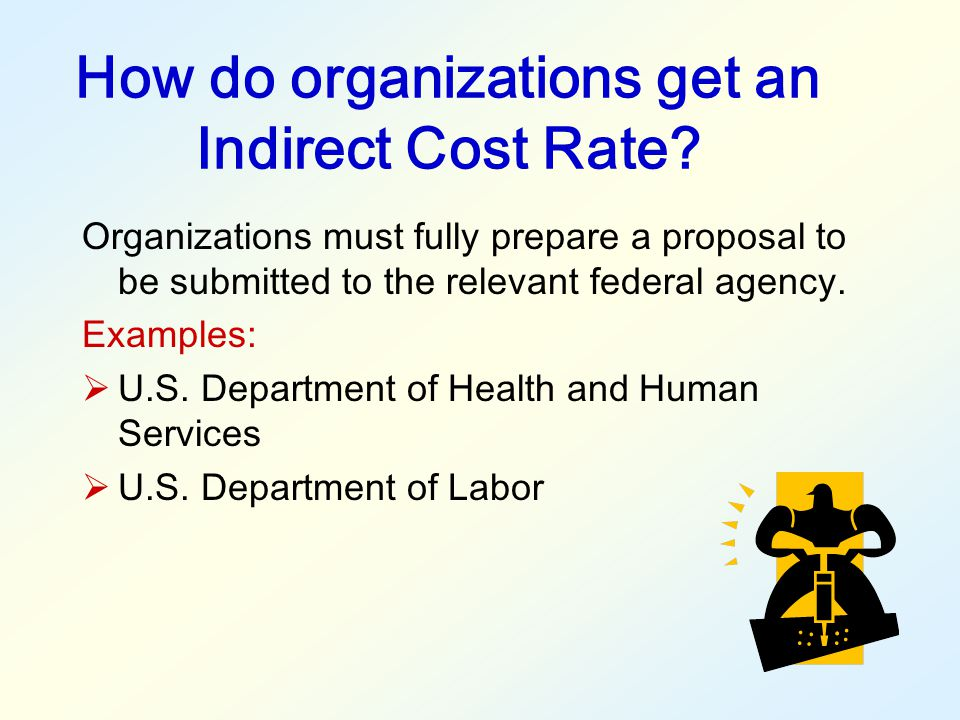 How do organizations get an Indirect Cost Rate