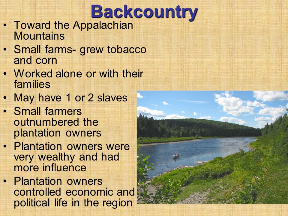 Backcountry Toward the Appalachian Mountains