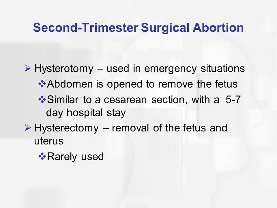Second-Trimester Surgical Abortion