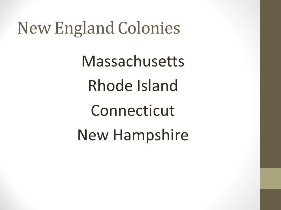 Massachusetts Rhode Island Connecticut New Hampshire