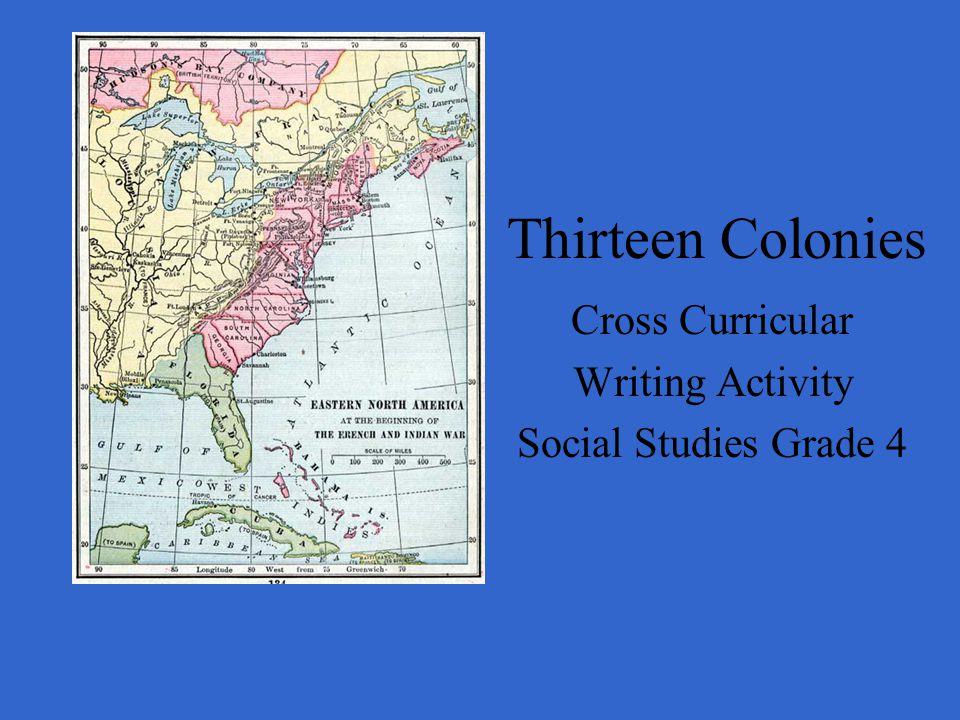 Cross Curricular Writing Activity Social Studies Grade 4