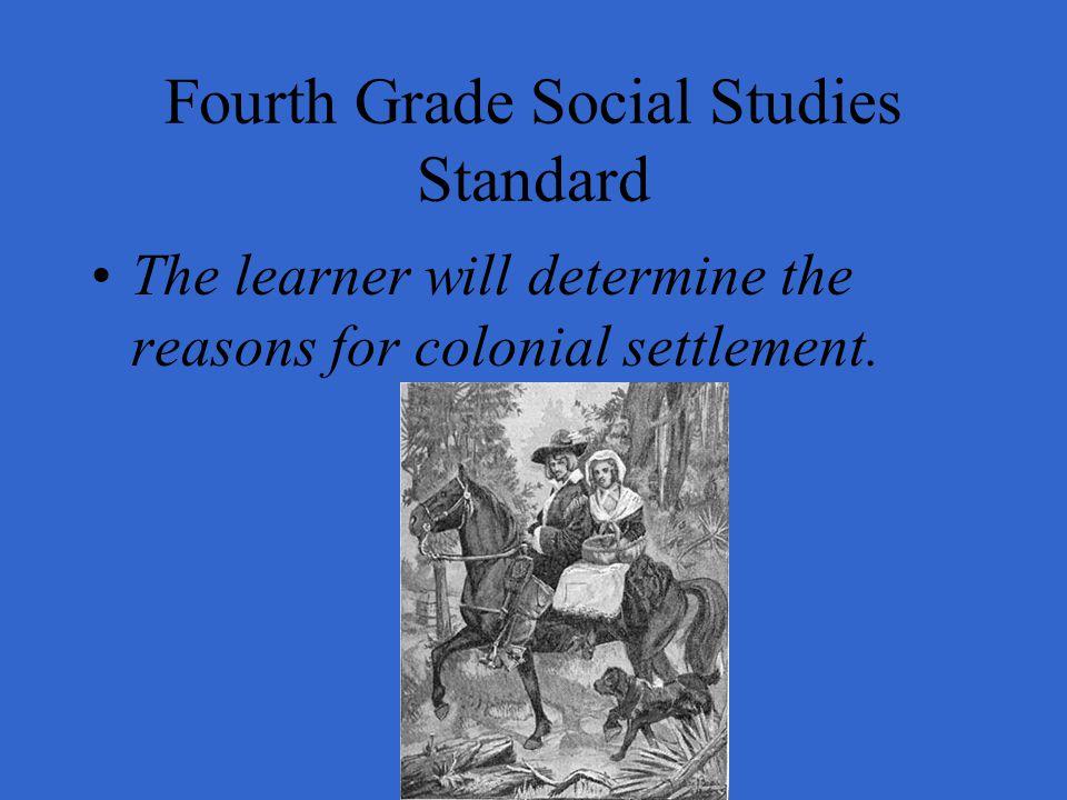 Fourth Grade Social Studies Standard