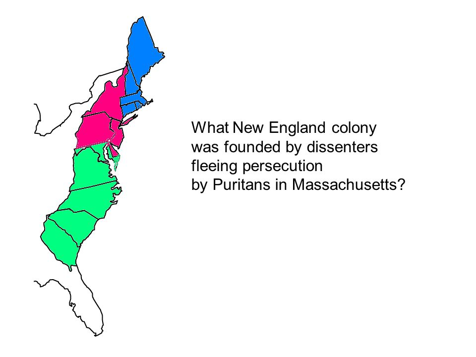 What New England colony