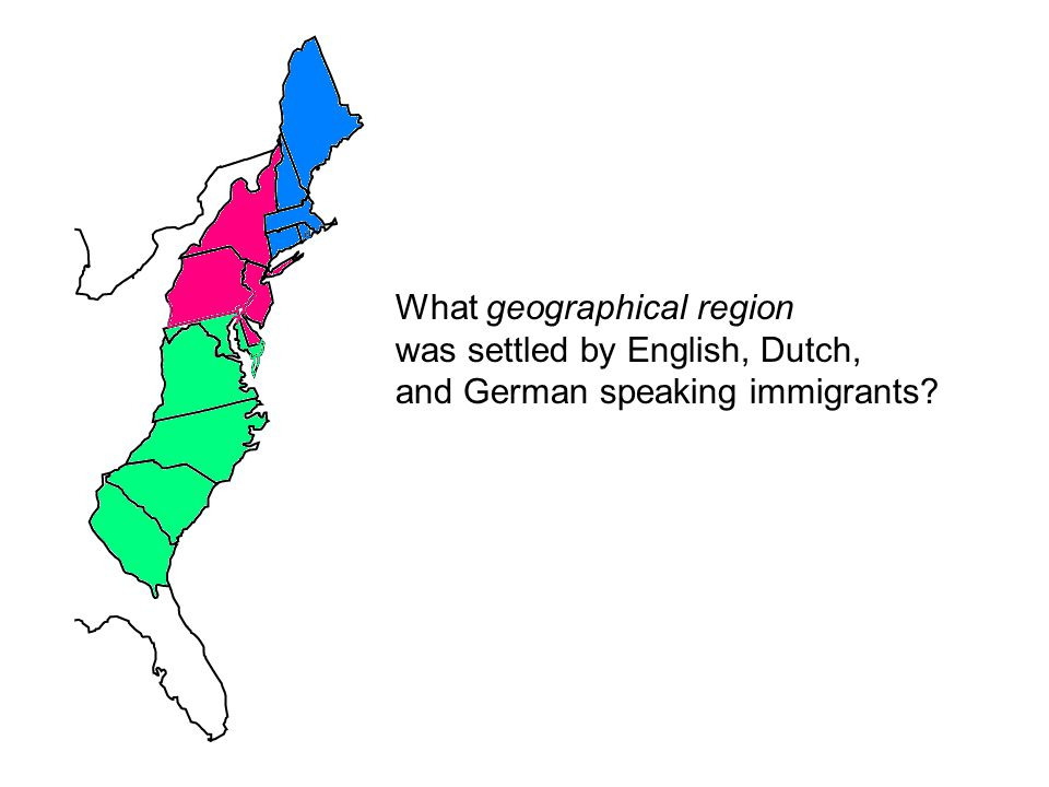 What geographical region