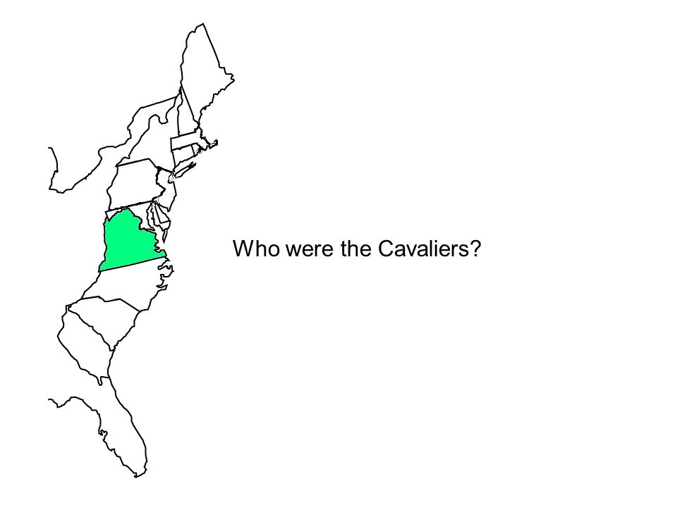 Who were the Cavaliers